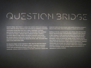 Question Bridge exhibit at Brooklyn Museum of Art, 2012