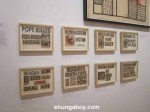 Untitled, reshuffled New York Post headlines, Keith Haring