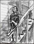 Carlos on Stairs